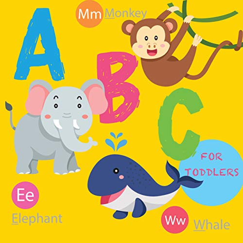 ABC for Toddlers: Animals Alphabet for Preschool Learning (Alphabet Learning for Toddlers Book 1) (English Edition) -