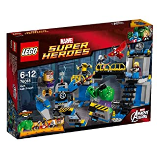 Lego 76018 - Marvel Super Heroes Hulks Labor Smash (B00GNUY9JE) | Amazon price tracker / tracking, Amazon price history charts, Amazon price watches, Amazon price drop alerts