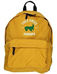 HippoWarehouse T-REX HATES PUSHUPS backpack ruck sack Dimensions: 31 x 42 x 21 cm Capacity: 18 litres
