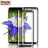 Nutmix Galaxy S8 Plus Verre Trempé, [2 Pièces] Ultra-Thin Film Protection écran en Verre trempé, 9H Dureté Ultra Résistant,...