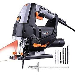 Sierra Caladora con guia laser Tacklife