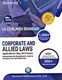 Corporate and Alied Laws Applicable for May, 2019 Exams