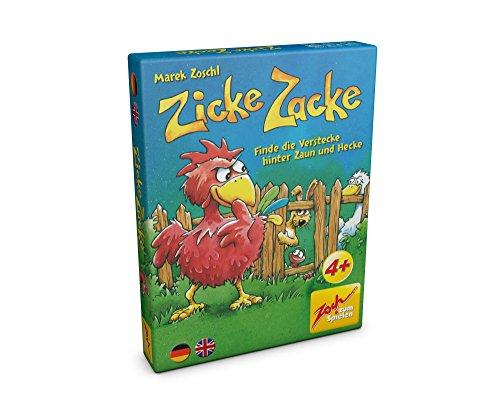 Preisvergleich Produktbild Noris Spiele 601105102 - Zicke Zacke, Kartenspiel