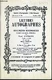 CATALOGUES DE VENTES AUX ENCHERES - BULLETIN D'AUTOGRAPHES A PRIX MARQUES - N°796 - OCTOBRE 1989 - LETTRES AUTOGRAPHES ET DOCUMENTS HISTORIQUES.
