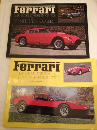 Ferrari: The early berlinettas & competition coupes (Classic sports car series) by Dean Batchelor (1974-08-02)