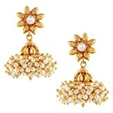 Chandni Pearls Sunflower South Indian Jh...