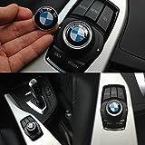 BMW 29mm interior botón de sonido Multimedia iDrive controlador Badge Logo Emblema
