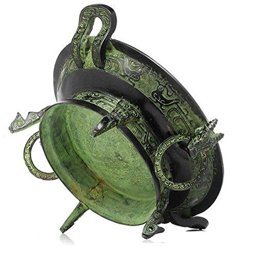 Decoraciones Antiguas De Bronce Wen Furnace Crafts Feng Shui Decoration Antiques