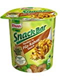 Knorr Snack Bar Nudeln in Pilz-Rahm-Sauce, 8er Pack (8 x 70 g)