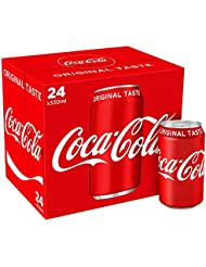 Coca-Cola Original Taste 24 x 330ml Cans