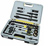Stanley 194663 FatMax Coffret outils 1/4' et 1/2' Noir 60 pièces (Import Grande Bretagne)