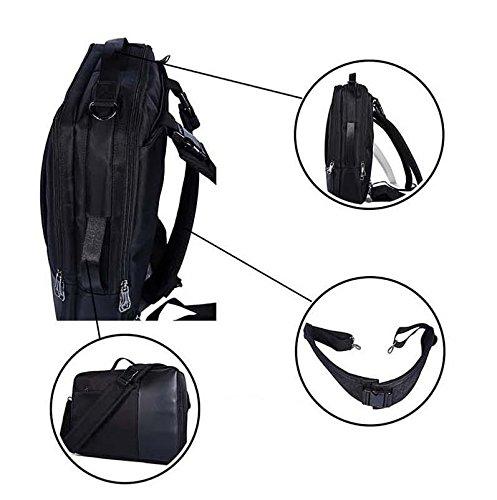 Mefly Männer Multifunktionale Business Laptop Reisen Rucksack Tasche Fashion Männliche Schwarze Rucksack Taschen, Schwarz Gray