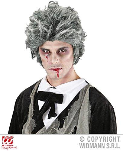 PERÜCKE - ZOMBIE MANN -, Dracula Blutsauger Vampire Grusel Fledermaus Untoter Untote