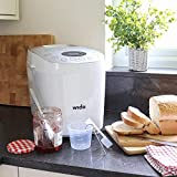 Wido Automatic Digital Bread Maker Machine with 15 Programmes Fast Loaf Baking 850W