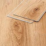 Vinylboden Eiche Natur hellbraun Holzstruktur Klicksystem 4,8mm Landhausdiele Vinstar