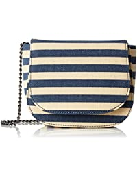 s.Oliver (Bags) Damen Mini Umhängetasche, 7.5x13.5x17 cm, Blau (Blau), 7.5x13.5x17 cm