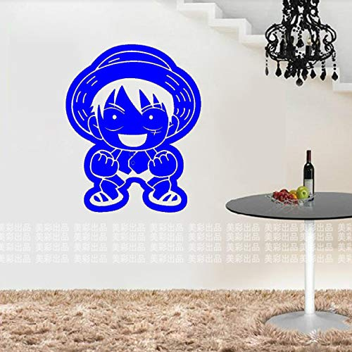 guijiumai Dctal One Piece Decal Car Wall Sticker Cartoon Giapponese Vinyl Decal Sticker Home Decoration 918 7 58x67cm