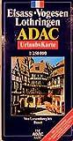 ADAC Karte, Elsass, Vogesen, Lothringen (ADAC Karten Frankreich / 1:150000) -