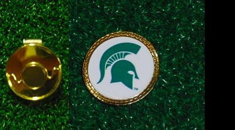 Gatormade Golf Ball Marker + Hat Clip Michigan state