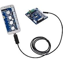XCSOURCE® 2in1 5.5mm Lente 2M endoscopio Micro USB OTG prueba impermeable de la cámara del boroscopio de la inspección para la PC androide BI562