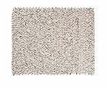 Sunita: rechteckig Elfenbein Grau Rechteck Handgefertigte Filzteppich Weicher Wolle, Wohnzimmer (200cm x 300cm / 6' 6.7'' x 9' 10.1'')