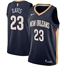 MVNBA New Orleans Pelicans Anthony-Davis 23 Swingman Men Jersey (Navy, M)