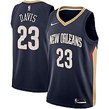 MVNBA New Orleans Pelicans Anthony-Davis 23 Swingman Men Jersey (Navy, M)