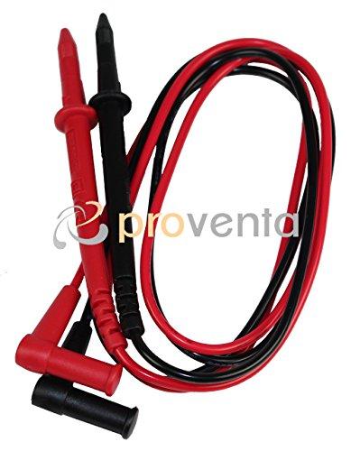 elektro pruefgeraet REV Ritter Digital-Vielfachmessgerät, schwarz-rot, 0037387102