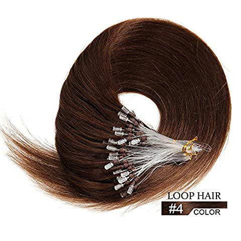 Micro Loop Ring Human Hair Extensions -16