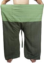 "Lovely Plus Fisherman Wrap Pants Plus Size Mens Womens Casual Yoga Pants Waist 77"" with P"