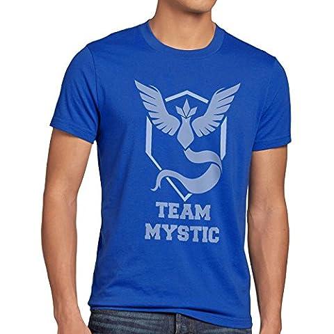 CottonCloud Équipe Bleu Mystic T-Shirt Homme sagesse,