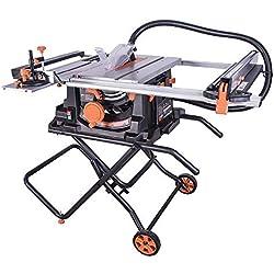 Evolution Power Tools - Scie sur table multi-matériaux Rage 5-S, 255 mm (230 V)