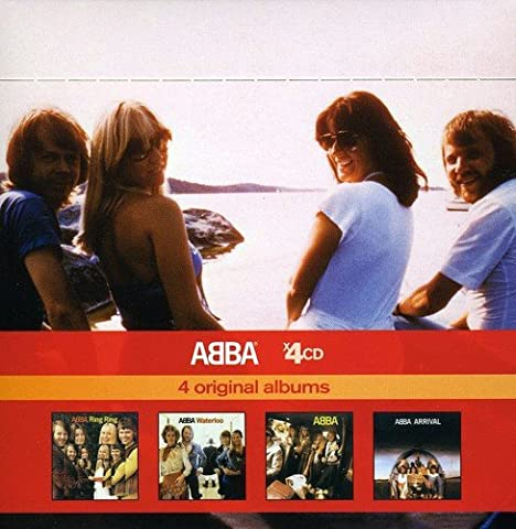 Ring Ring / Waterloo / Abba / Arrival (Coffret 4 CD)