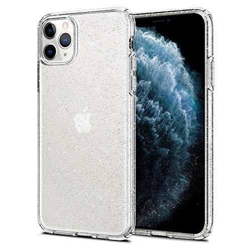 Spigen Cover iPhone 11 PRO Max Liquid Crystal Glitter Progettato per Apple iPhone 11 PRO Max Custodia - Crytal Quartz