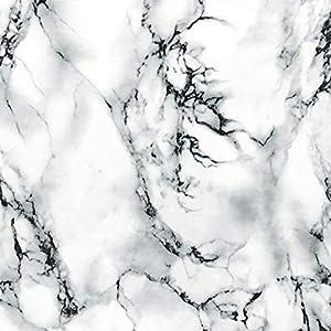 d-c-fix Marmor Marmi Weiss Klebefolie, Vinyl, 200 x 67.5 cm