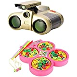 Combo of Night Scope Binoculars & Fish Catching Game for kids(Multicolor)