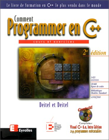 Comment programmer en C++ par Paul J. Deitel