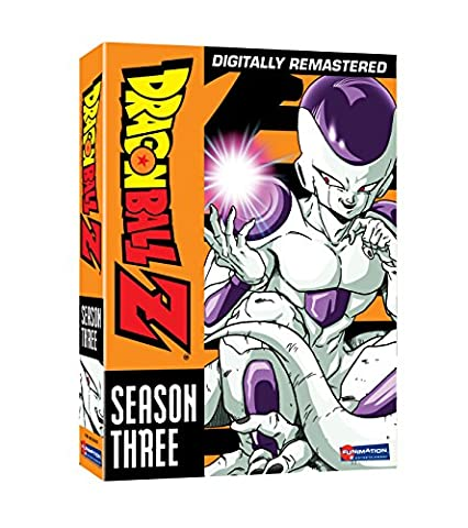 Dragon Ball Z (DVD) Season 3 NTSC RegCode 1 2 4