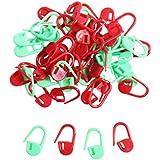 Paquete de 100 pinzas/ganchos de seguridad para marcar en tejidos y crochet, por Curtzy TM.