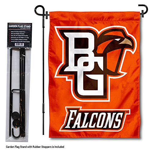 College Flags and Banners Co. Bowling Green State Falcons Gartenflagge mit Stangenhalter