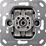GIRA Serie Standard 55 - reinweiß glänzend (010700) Kreuzschalter