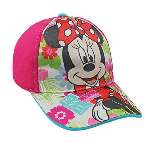 Minnie 2200000249-Basic Cap für Kinder, Rosa, Einheitsgröße -