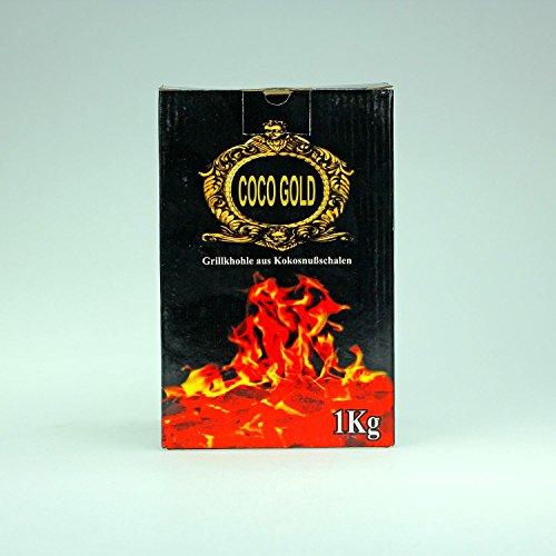 Preisvergleich Produktbild Grill-,  Shishakohle aus Kokosnußschalen 1 Kg
