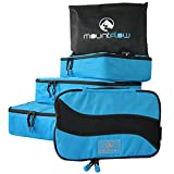 Best Shirts For Travel For Men - Packing Cubes - Pouch Travel Set of 4 Review