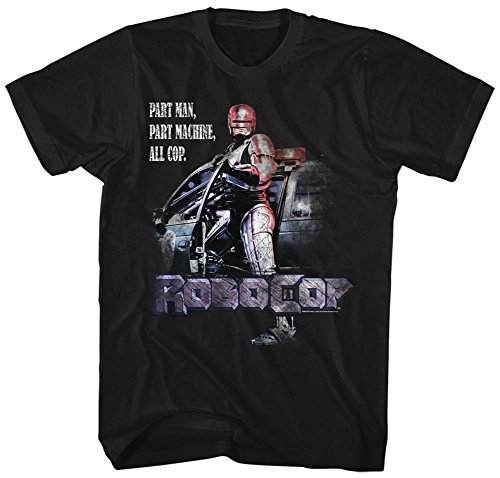 Men's - Robocop- All Cop - T-Shirt