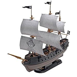 Revell- The Black Diamond Pirate Ship,Escala 1:350 Kit de Modelos de plástico, (11971)