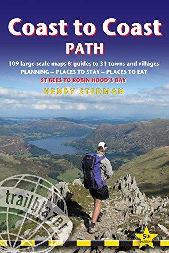 Coast to Coast Path: St Bees to Robin Hood's Bay (Trailblazer Guide) -