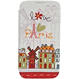 Akashi Paris ALTGDPR121237 Etui folio pour Samsung Galaxy Grand Prime Multicolore