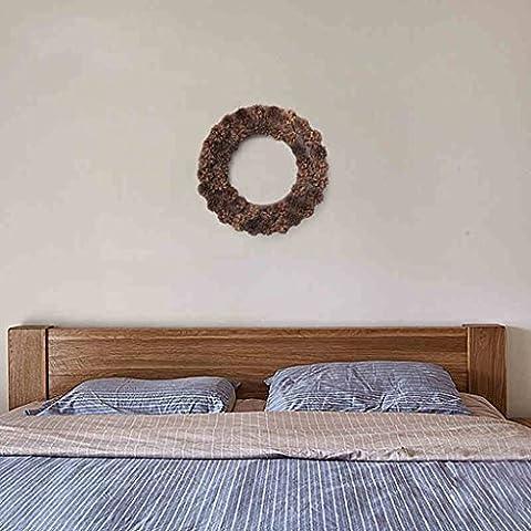 Decorazione parete americano rurale pineale decorazione della parete di Corona creativa porta ornamenti ornamenti ornamenti