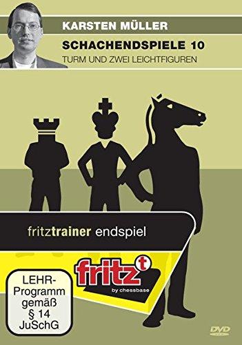 Schachendspiele 10 - Karsten Müller - Turm und 2 Leichtfiguren